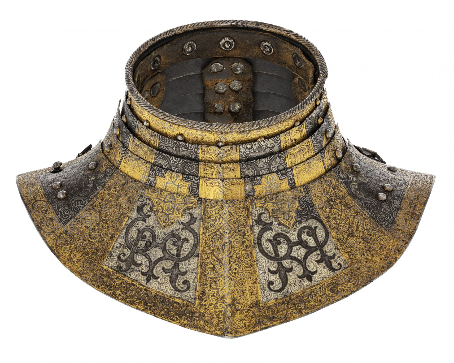 Ring collar from a suit of armour.
