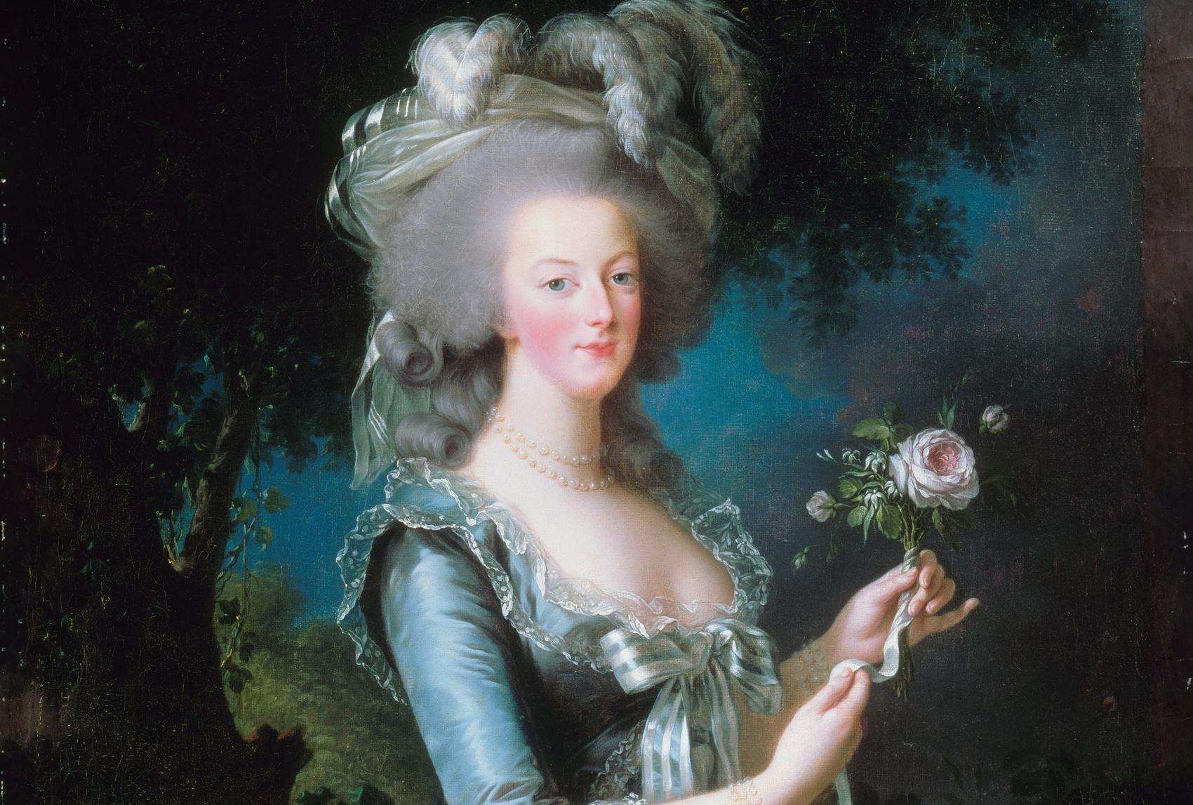 Porträtt av Marie Antoinette