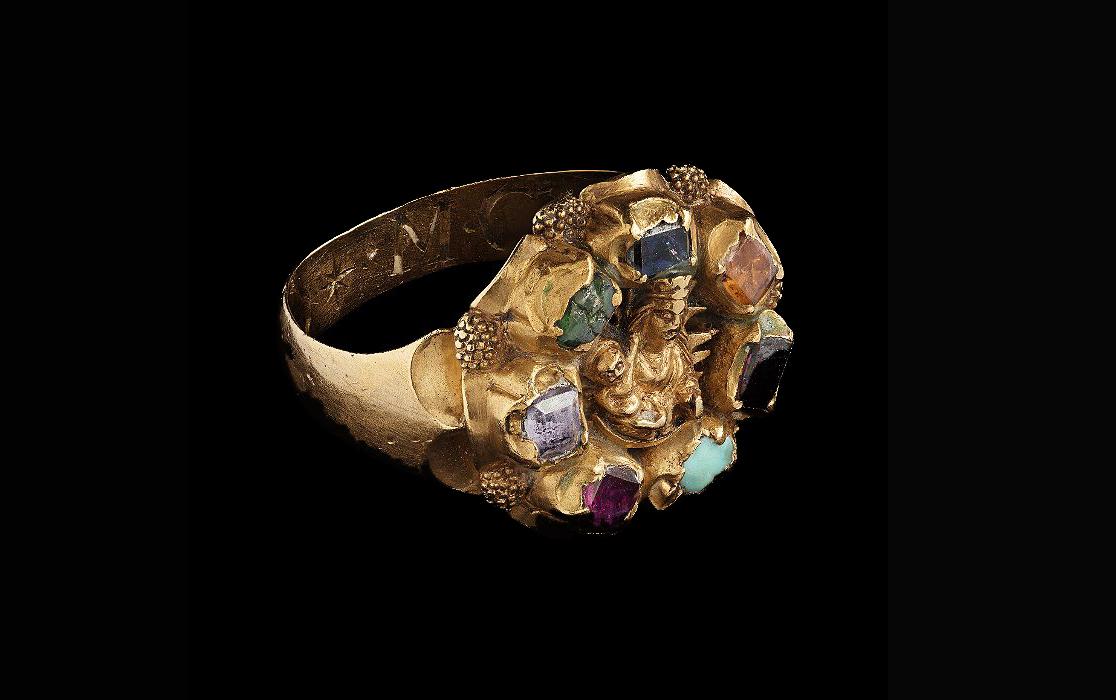 En guldig ring